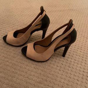 Zara two tone colour shoes